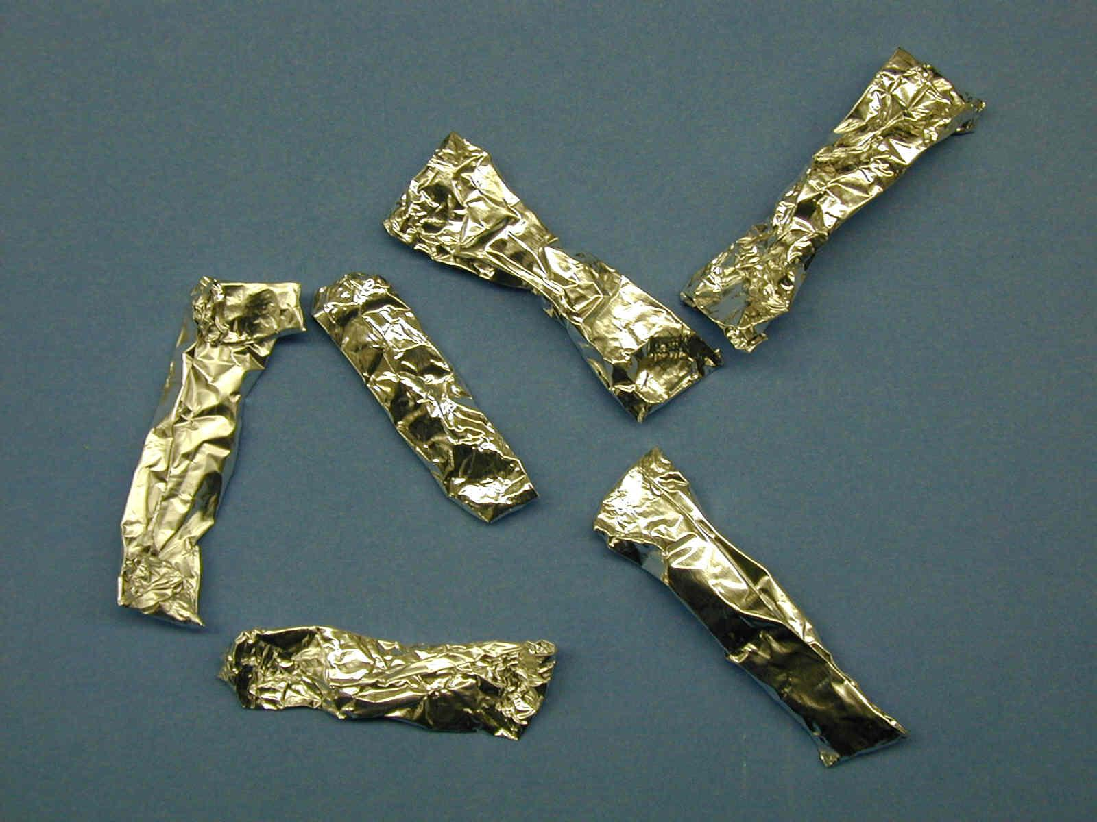 PCP foil wrappers