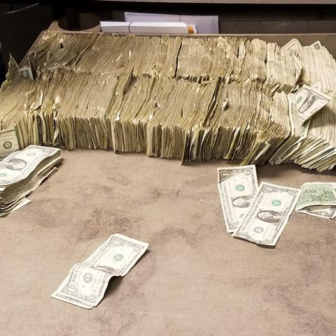 An OCDETF investigation seized $50,000 in illicit proceeds from street drug sales.