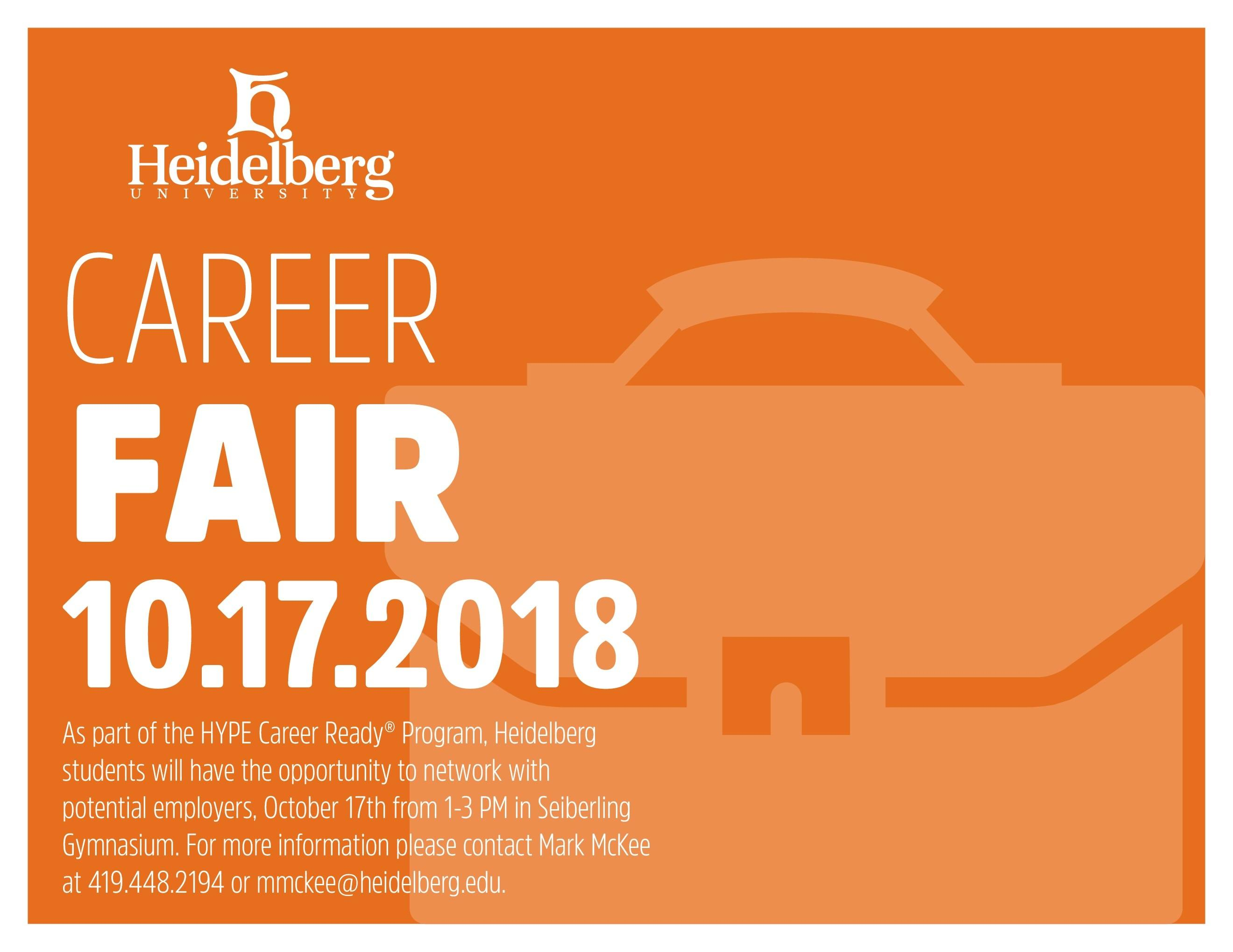 Heidelberg University Career Fair