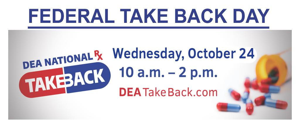 Federal Take Back Day Logo