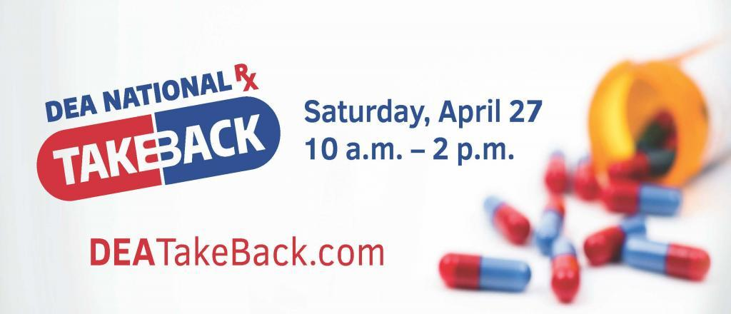 Image result for dea national take back 2019