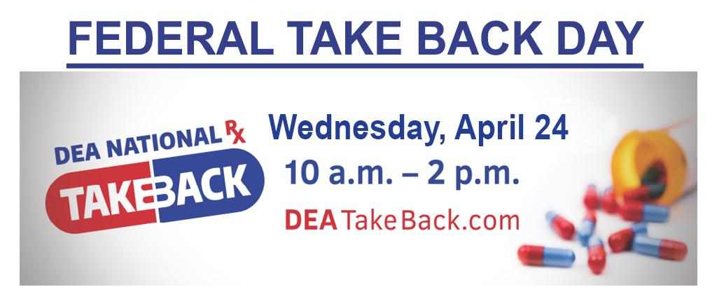 2019 Federal TakeBack Day