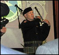 DEA Bag Pipe Special Agent K. Donnelly.