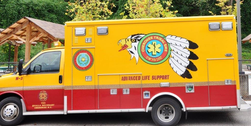 Cherokee Tribal EMS vehicle