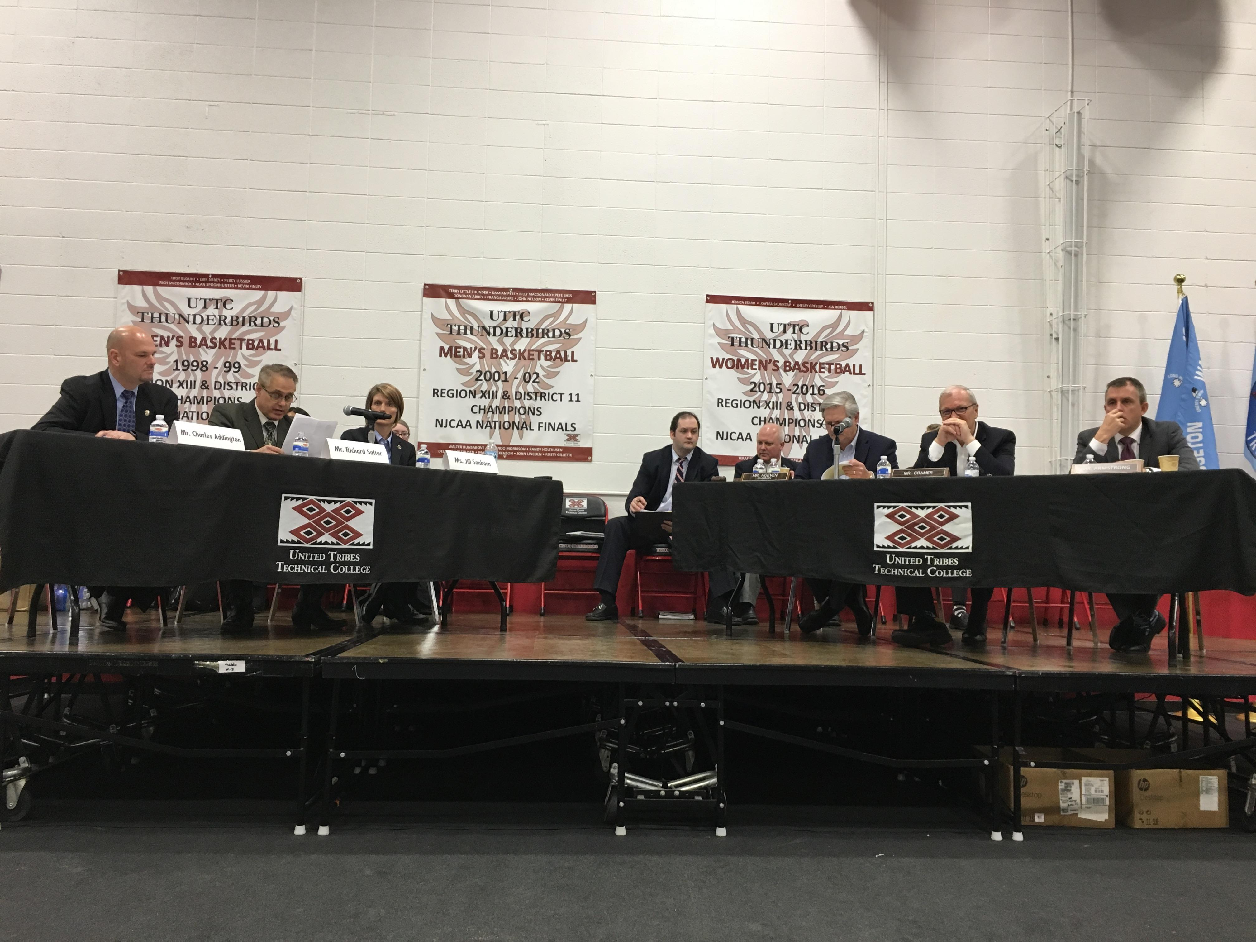 Senate Committee on Indian Affairs Oversight Hearing in Bismarck, N.D.