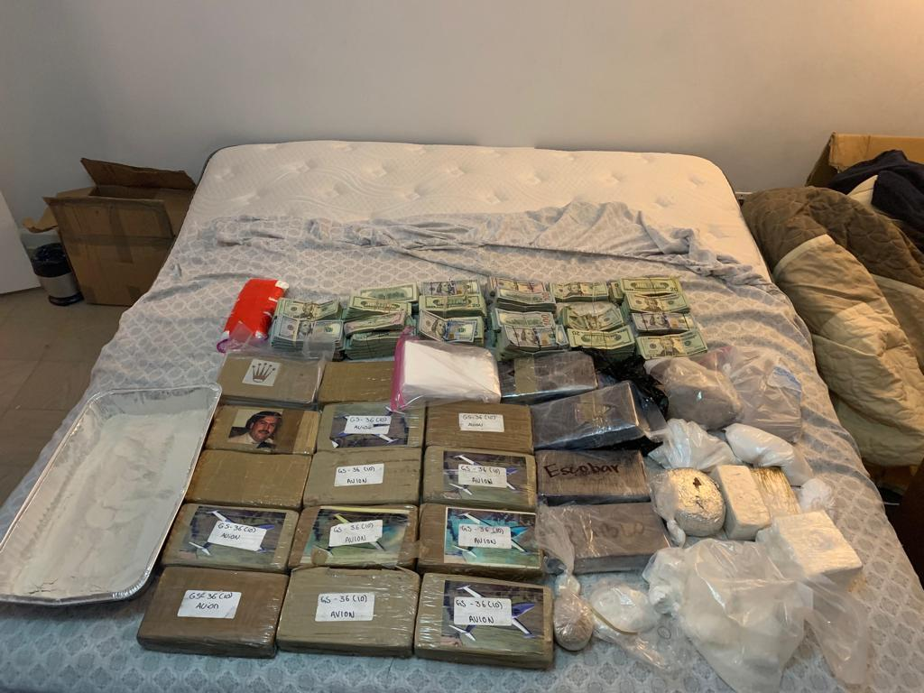 Heroin, Fentanyl and Money seized in New York