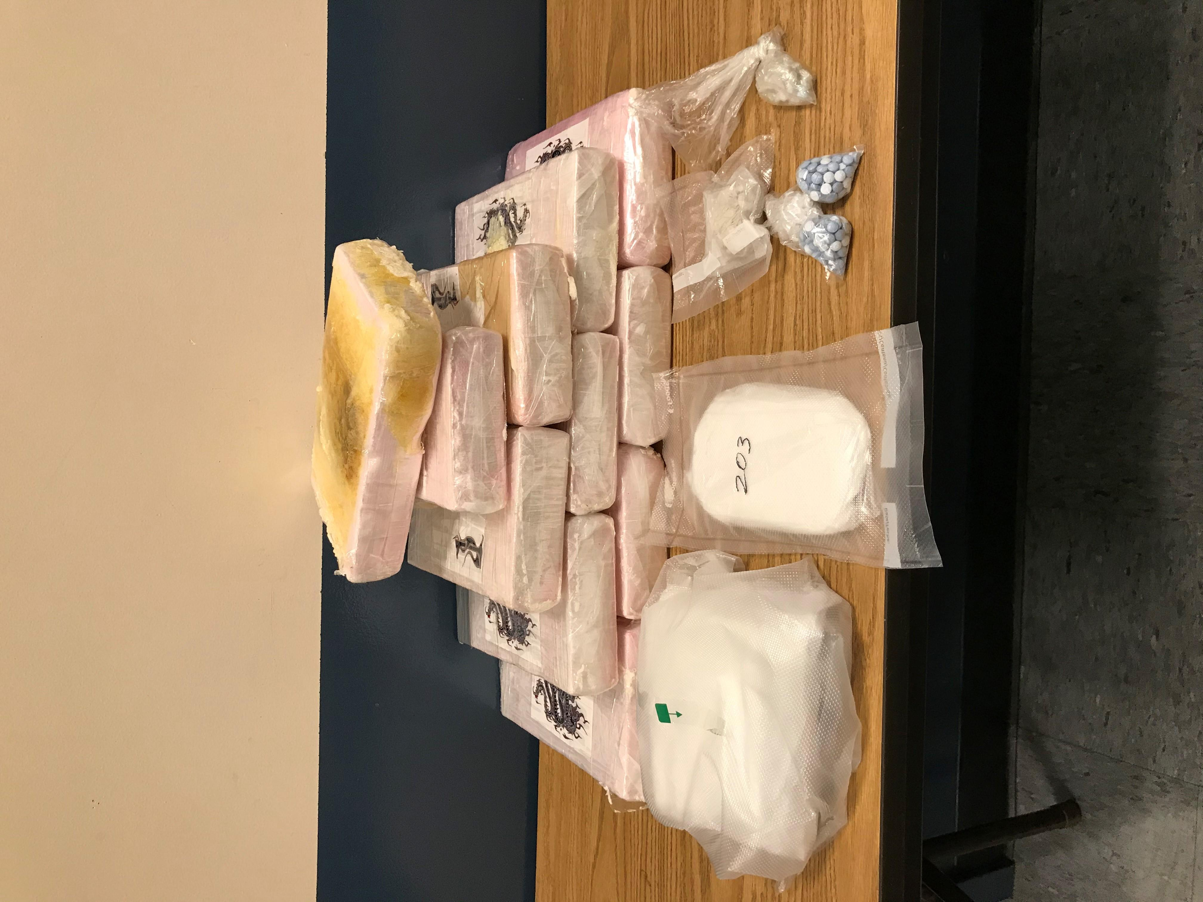 Over 25 pounds of cocaine seized