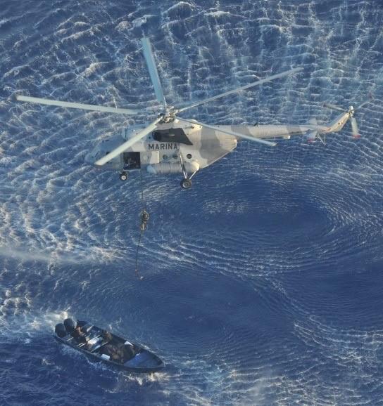 DEA Merida Resident Office and Mexico's Secretaria de Marina seize over 3 tons of cocaine from boat off the coast of Quintana Roo