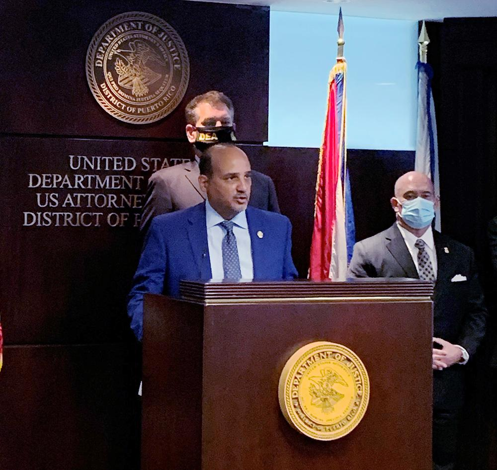 DEA Caribbean Division Special Agent in Charge, A.J. Collazo