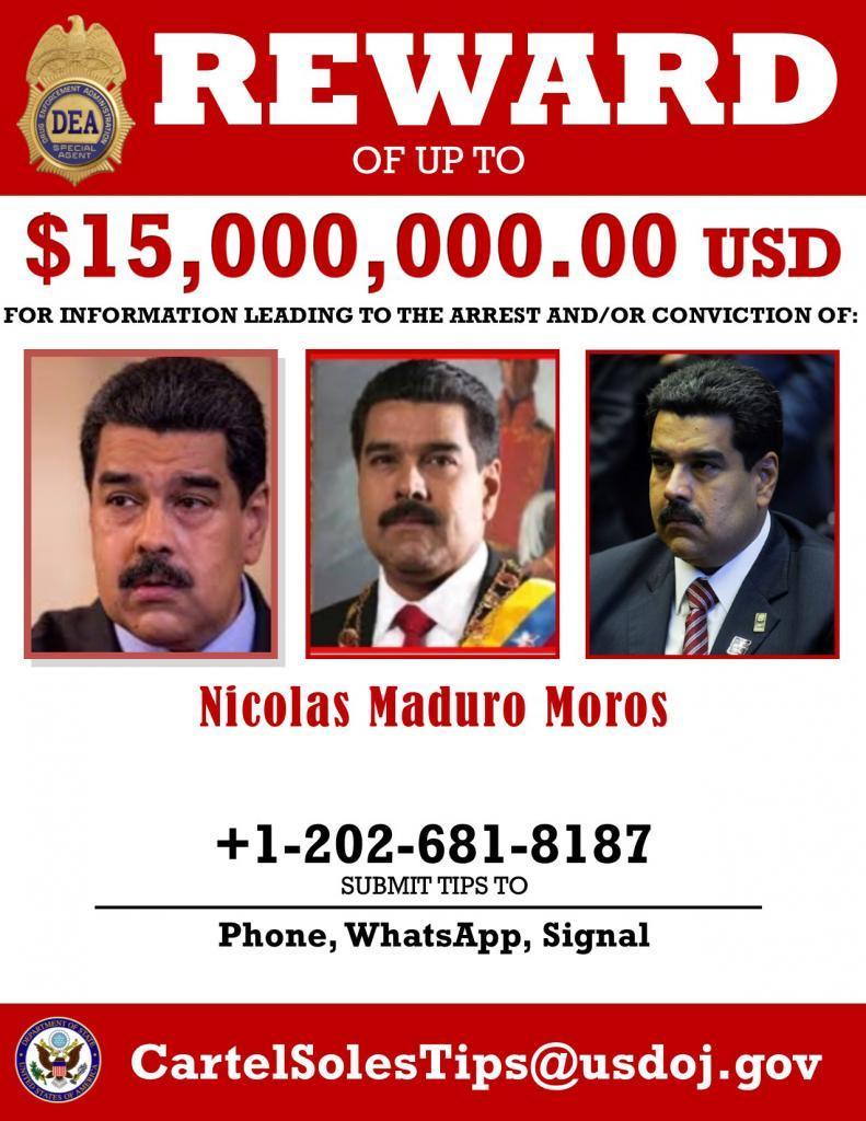 Noticias y  Generalidades - Página 12 MaduroRewardPoster_0