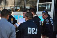 DEA and PRPD Agents coordinate prisoner transportation. ATF, the US Marshals Service, PRPD and the Puerto Rico Department of Corrections provided support to DEA during the investigation and the arrest operation.
