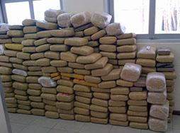 DEA and the USCG seized 1,729 pounds of marijuana.