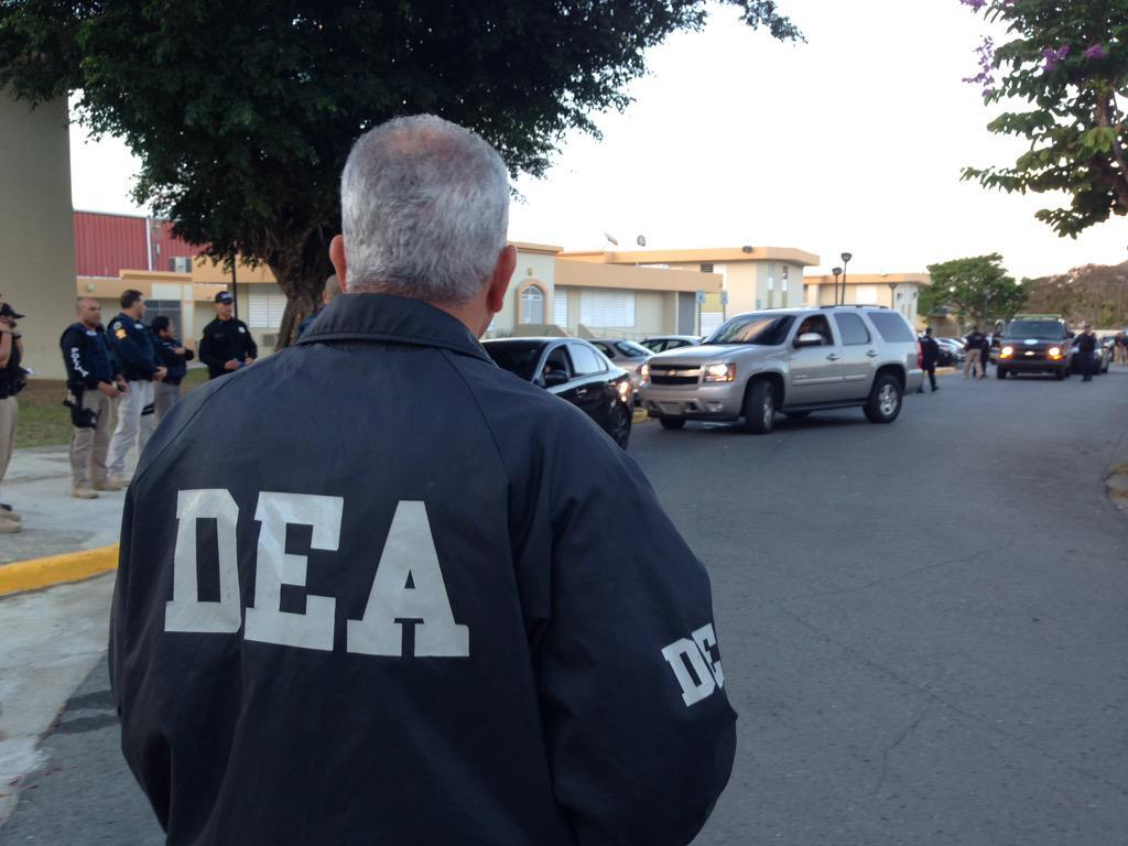 DEA Caribbean Division and Police of Puerto Rico agents execute arrest warrants in Patillas, PR