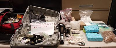 DEA, SNC and NYPD seized heroin/fentanyl and paraphernalia from apartment across from Public School 115 in Manhattan.