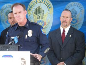 Phoenix Police Department Acting Chief Joseph Yahner and Acting SAC Coleman.