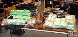 Cocaine, weapons, cash seized in Operation Triple Threat
