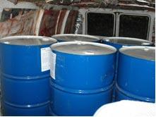 Seized barrels of MMA discovered in Arizona.