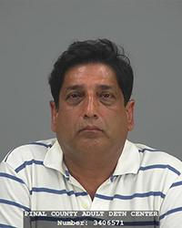 Dr. Harinder Kumar Takyar was indicted by a state grand jury alleging he prescribed controlled substances with no medical necessity and provided compensation for the referral of patients to his medical offices in several Arizona cities.