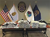 31 kilograms of cocaine and $2.4 million seized by DEA Baltimore.
